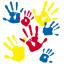 Image of hands in fingerpaint